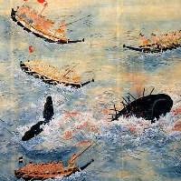 熊野捕鯨図巻・上巻